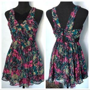 BCBGeneration• Floral Lace Dress